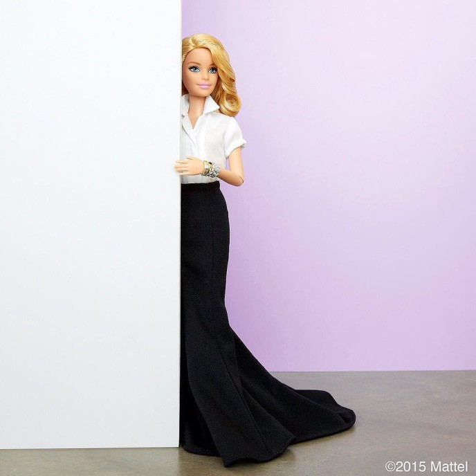 Sometimes I like to get formal on a Friday! ? #barbie #barbiestyle