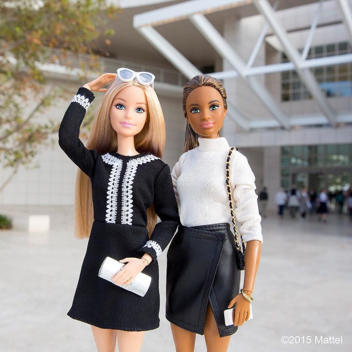 Great day spent @thegetty! The perfect way to end a weekend experiencing some of LA?s must-visit museums. Where do you seek inspiration? ?? #barbie #barbiestyle