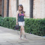 Look do Dia: Shorts com Gladiadora de Franjas