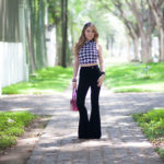 Look do Dia: Cropped Top + Calça Flare