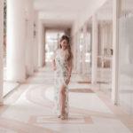 Look do Dia: Vestido longo com fenda