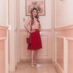 Look do Dia: Rosé com Vermelho