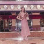 Look de Aniversário – vestido rosé