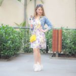 Look do Dia: Vestido Floral+Tenis