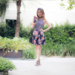 Look do Dia: Listras+Floral