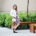 Look Do Dia: Vestido + Jaqueta Branca