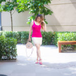 Look do Dia: Saia de Renda com Magenta