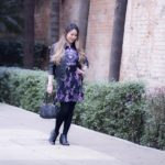 Look do Dia: Saia Floral com Jaqueta